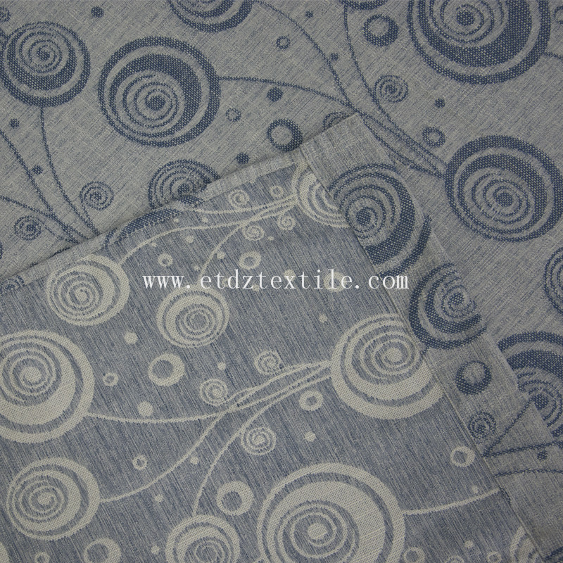 Polyester Jacquard fabric for curtain 6021#