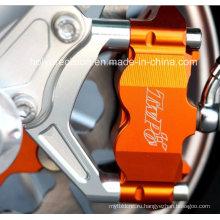 ЧПУ Алюминиевый мотоцикл частей с лазерной гравировкой и Анодированием