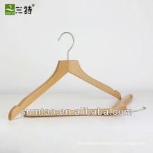 présentoir de chemise en bois de hêtre