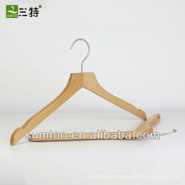 beech wood shirt display hanger