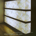 Surface Polished Translucent Resin Panel Artificial Acrylic Solid Surface Marble
