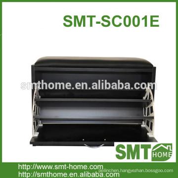cheap soft cushion 1 door shoe cabinet