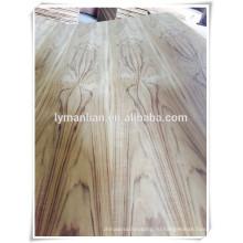 фанера из тикового шпона / морская фанера из тикового дерева / 4 мм фанера из тикового шпона plywod