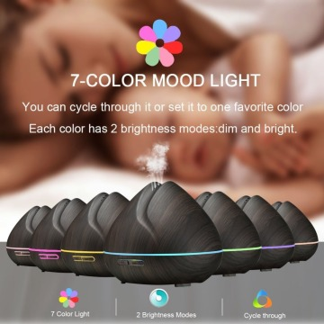 Led Light Wall Mounted Essential Oils Diffuser 400ml