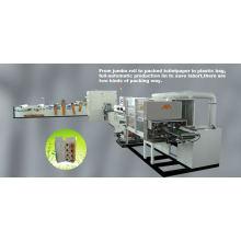 Ligne de production de papier hygiénique complètement automatique