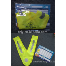 kids high visibility reflective safety clothing