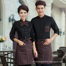 Cafe Waiter Uniform Restaurant Uniforms Hotel Waitress Uniforms Work Wear Hotel Work Clothes