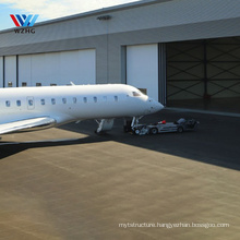 light weight prefabricated steel structure storage fabric air plane hangar garage aviation hangar for sport