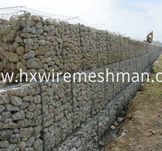 gabion basket retaining wall