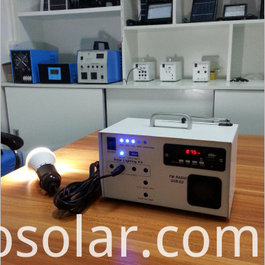 mini solar power system