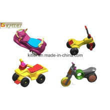 Modelo de plástico Die-Cast Pull Back Toy Carros Kids OEM ICTI