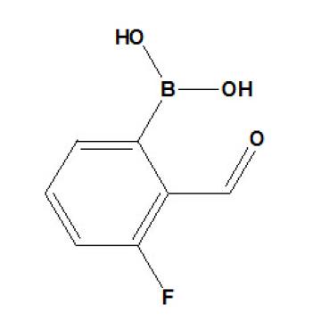 (3-Fluoro-2-formilfenil) Bor�ico �ido N� CAS 871126-15-7