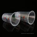 500 ml atacado PP copos de suco de frutas descartáveis de plástico