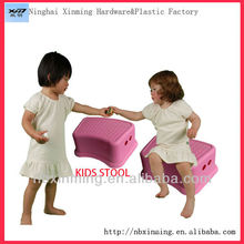 Wholesale colorful plastic sitting stool for kids