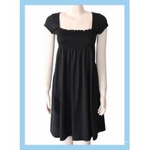 100% cotton lady's dresses