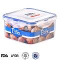 Échantillon gratuit étanche à l'eau micro-ondes en plastique conteneur de stockage pour garder la nourriture chaude