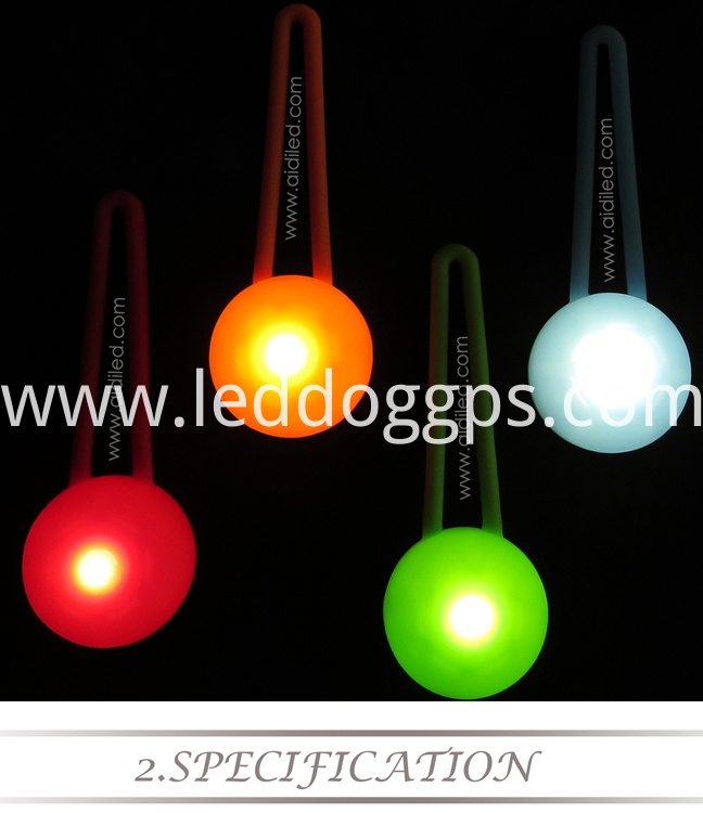 Dog Collar Light Attachment
