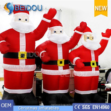Publicité gonflable Père Noël Santa gonflable gonflable Noël