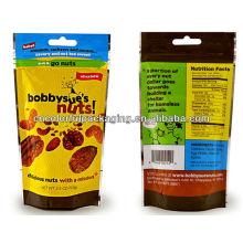 Verpackungsbeutel für Kartoffelchips mit kundenspezifischer Bedruckung PET / VMPET / CPP Material