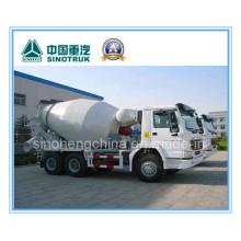 9m3 Sinotruk / Cnhtc HOWO 6 X 4 Cement/Concrete Tanker / Tank Truck / Mixer Truck 336HP