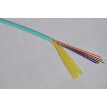 Câble de fibre optique omyn GJFJV de 12 core omni Couleur Aqua