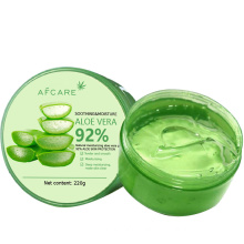 Manufacturing OEM Private Label 100% Pure Natural Organic Extract Soothing Aloe Vera Gel for Face Skin