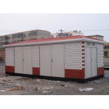 Subestación europea de transformadores de potencia tipo caja para fuente de alimentación