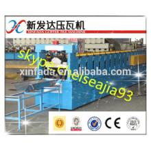 metal panel sheet joint hidden roll forming machine