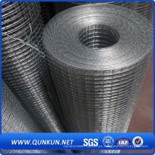 Panel de malla de alambre soldado con autógena galvanizado en Chinna