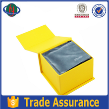 Yellow Color Printing Rigid Paper Box