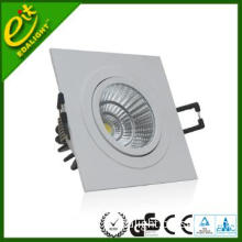 7w 520 lm high power and high brightness rectangular led downlight