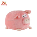 christmas stuffed animal fluffy chubby round square pig wholesale dancing singing cute fat black stuffed plush pig toy