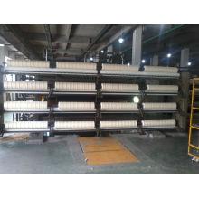 100% 3.23NM / 1 NZ fil de laine cru blanc pour tapis