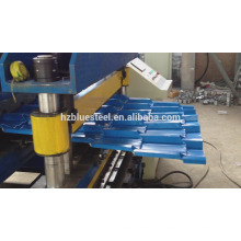 Durable Roof Tile Making Machine Price , Good Quality Metal Roof Roll Forming Machine , Roof Tile Roll Forming Machine For Sale