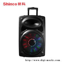 High Quality Active Trolly Speaker with Bluetooth Function