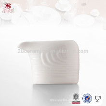 jarro de leite personalizado da desnatadeira da porcelana da venda quente, acessórios da cozinha do hotel