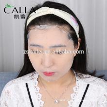 Etiqueta privada hidratante aloe vera natural removendo rugas máscara de seda facial