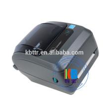Satinband für Kleidungssorgfaltetikett Eisen auf Etikettendruck GK 420T Zebradrucker