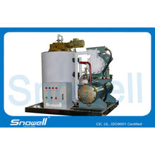 3t/d Water Cooled Seawater Ice Machine For Deep-sea Fishing Industry 0.1mpa-0.5mpa