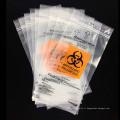 Sac de transport médical biodégradable Ziplock Biohazard