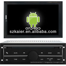 Lecteur DVD de voiture pour système Android Mitsubishi L200