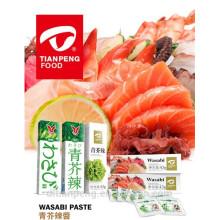 A pasta de alta qualidade de Wasabi cita o fornecedor chian