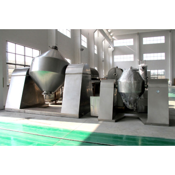 Double Conical Revolving Vacuum Dryer dengan kelajuan 0-13rpm