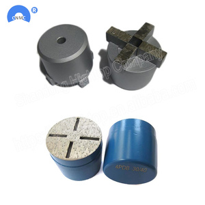 4 Segments floor Concrete Diamond Grinding Plug