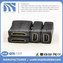 HDMI Buchse auf Buchse F / F Adapter Extender Stecker Koppler DVD HDTV