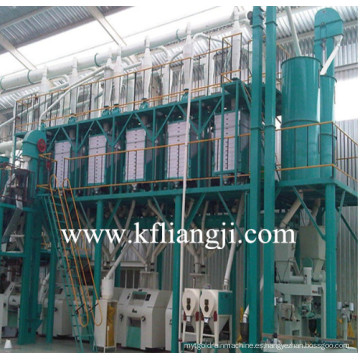 Máquina de molino de harina de maíz, planta de procesamiento de trigo, molino de molino de maíz