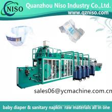 Máquina de pañales normal de la protección-fuga de la máquina del pañal del bebé de la economía