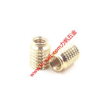 Diamond Outer- Knurled Insert Nut for Thermoplastic Material