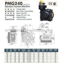 Máquina de tração elevatória (série PMG)
