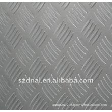 Chapa de xadrez de alumínio